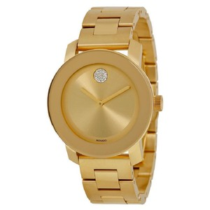 Movado Bold Ion Plated Stainless Steel Ladies Watch