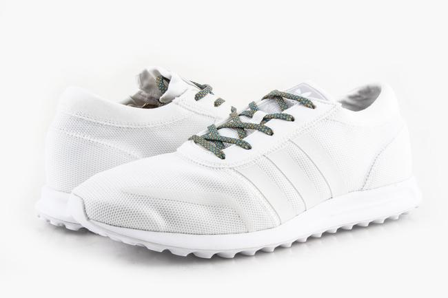 Item - White Men's Los Angeles Trainers Sleek Woven Upper Sn Shoes