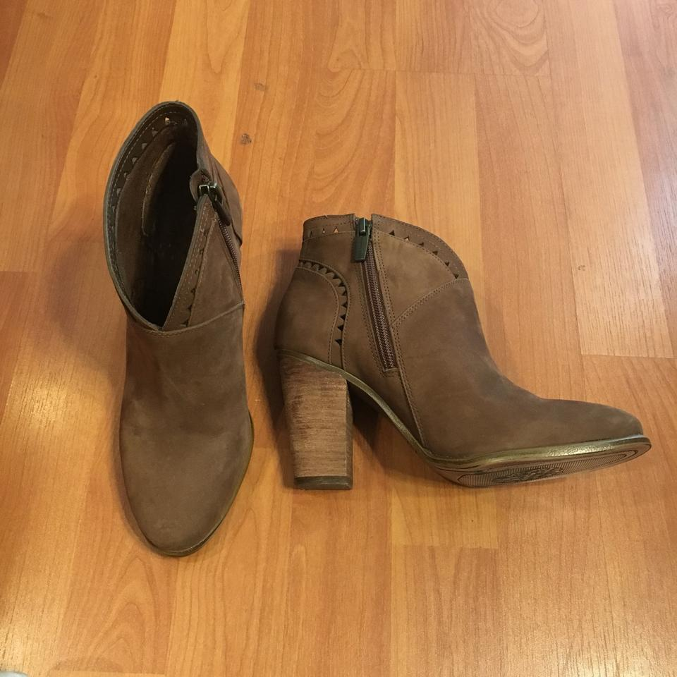 Vince Booties Brown Camuto Boots Vc Fritan wrqax7pwOP