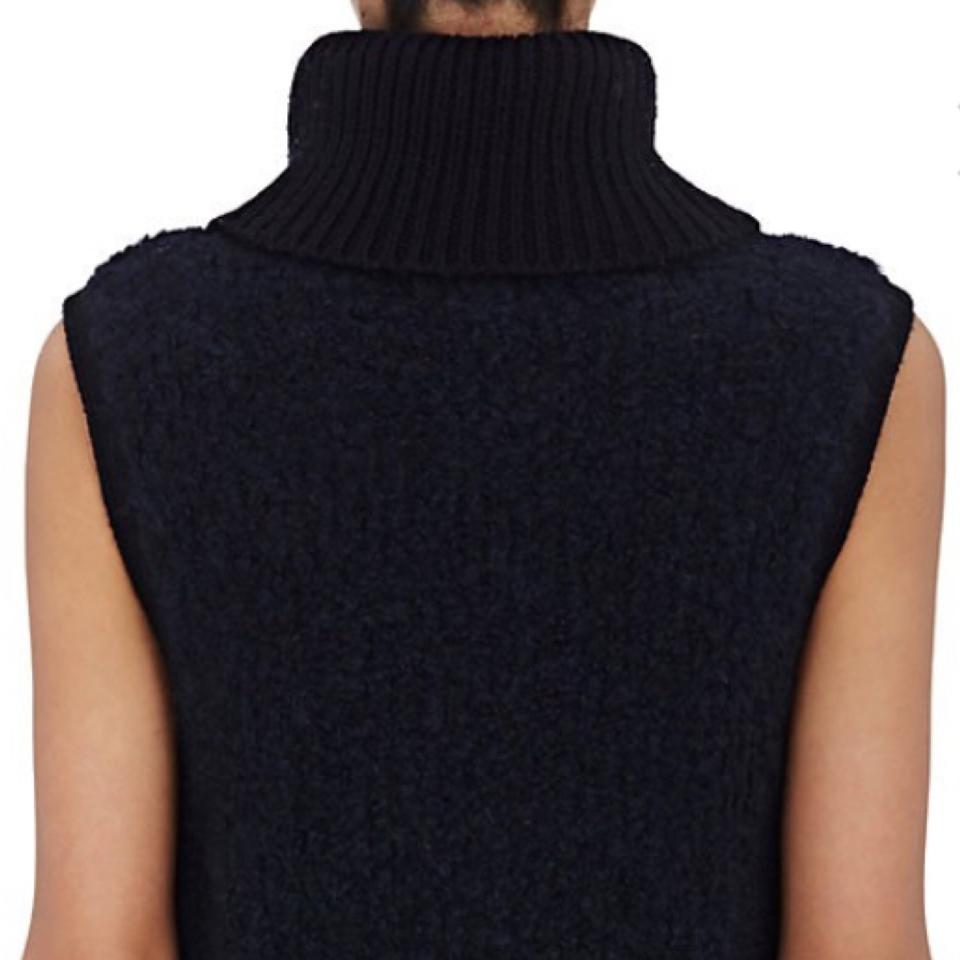 Adele Rag Blue Pullover Sleeveless Bone Turtleneck amp; Sweater CqtxwWrqE4