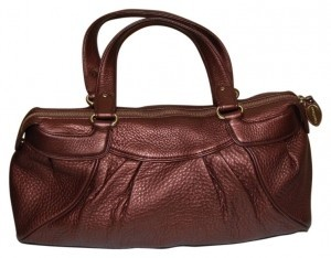 Cole Haan Satchel in Bronze / Copper