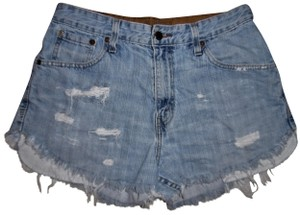 Signature by Levi Strauss Jean High Rise High Waisted Cut Off Shorts