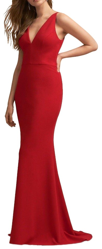 a1df7a9d2b492 Anthropologie Red Jones By Bhldn Long Night Out Dress Size 8 (M ...