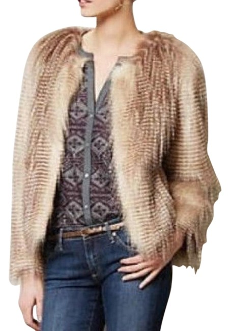 Item - Multi - Color Rochelle L Elevenses Faux Fur Jacket Size 12 (L)