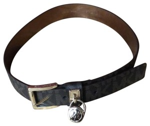 Michael Kors Michael Kors Logo Brown Belt