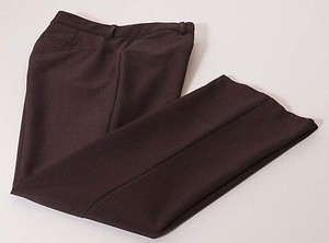 Elie Tahari Womens Stretch Flat Front Dress Petite 4p Pants