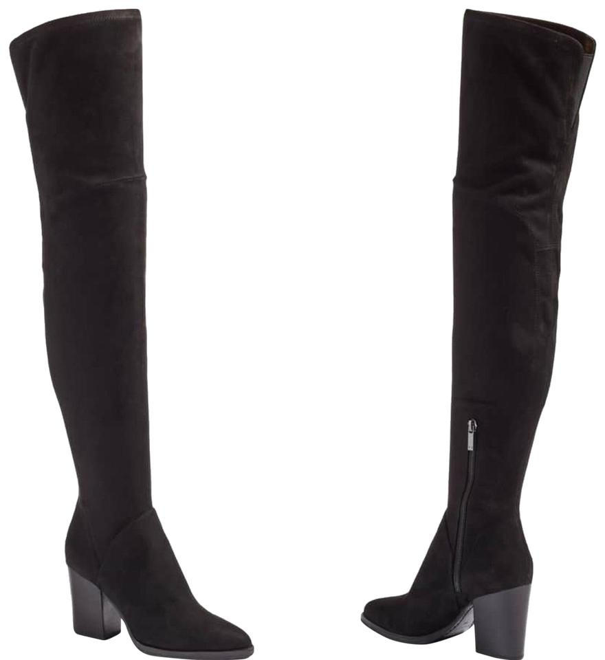 39d8ff465c0 Marc Fisher Black Ltd Arrine Over Knee Boots Booties Size US 6.5 ...