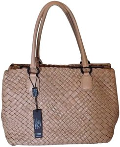 Falor Tote in Beige/taupe