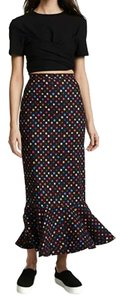 SALONI Maxi Skirt Rainbow Polka