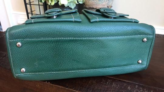 MCM Leather Gucci Satchel in Dark Green Image 7