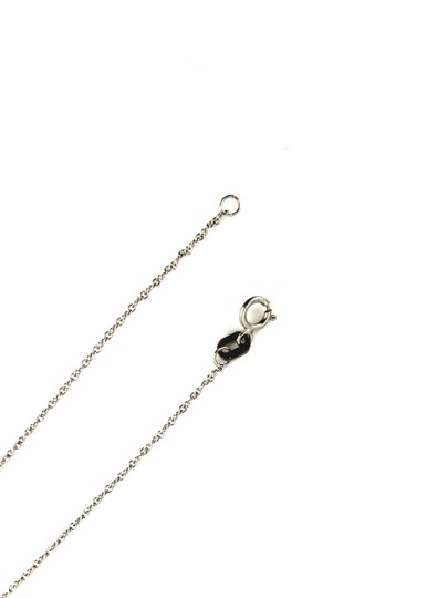 Other 14K White Gold Diamond Cross Necklace Image 4