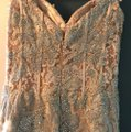 Jovani Gold Polyester and 3% Spandex Gown Formal Bridesmaid/Mob Dress Size 8 (M) Image 7