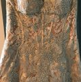Jovani Gold Polyester and 3% Spandex Gown Formal Bridesmaid/Mob Dress Size 8 (M) Image 9