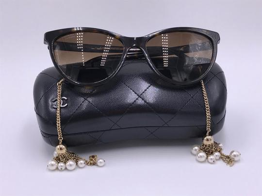Chanel AMAZING Cat Eye with Dangling Pearls 5341H C.714/S9 POLARIZED Image 11