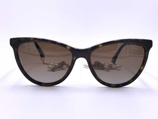 Chanel AMAZING Cat Eye with Dangling Pearls 5341H C.714/S9 POLARIZED Image 2