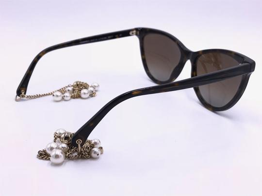 Chanel AMAZING Cat Eye with Dangling Pearls 5341H C.714/S9 POLARIZED Image 3