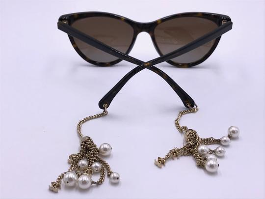 Chanel AMAZING Cat Eye with Dangling Pearls 5341H C.714/S9 POLARIZED Image 5