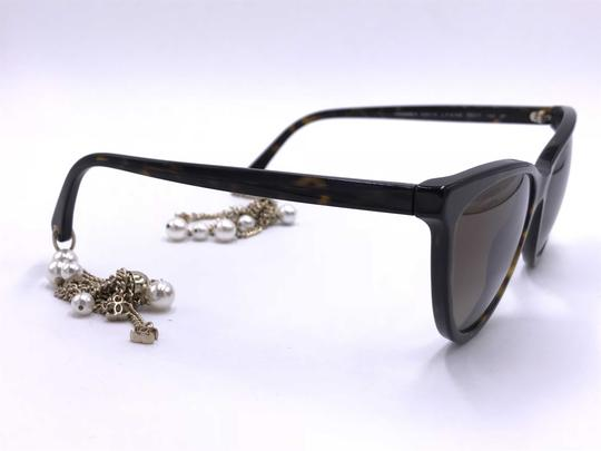 Chanel AMAZING Cat Eye with Dangling Pearls 5341H C.714/S9 POLARIZED Image 8