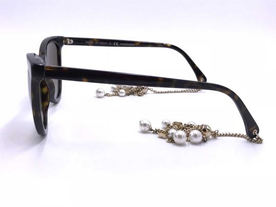 Chanel AMAZING Cat Eye with Dangling Pearls 5341H C.714/S9 POLARIZED Image 9