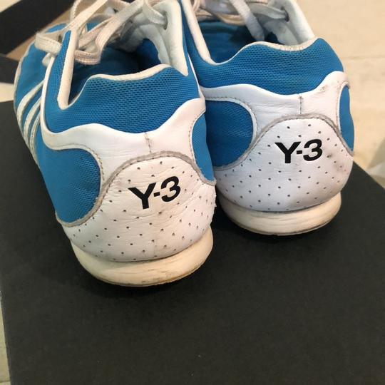 Y-3 white and blue Athletic Image 2