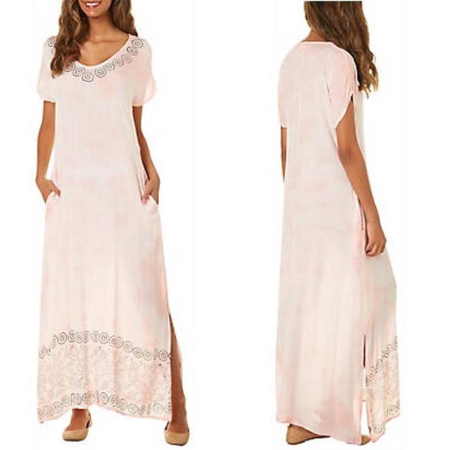 peach Maxi Dress by Exist Image 1
