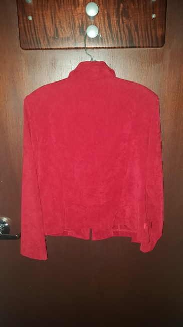 Other Suede Red Jacket Image 1