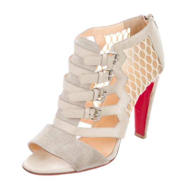 Christian Louboutin Grey Cage Sandals Pumps Size EU 39 (Approx. US 9) Regular (M, B) Christian Louboutin Grey Cage Sandals Pumps Size EU 39 (Approx. US 9) Regular (M, B) Image 1