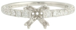 Other NEW Semi-Mount Engagement Ring - 14k Gold for 6-6.5mm Solitaire n767