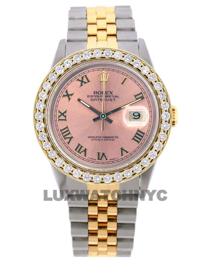 Rolex Free Shipping 2.8ct 36mm Datejust S/S with Box & Appraisal Watch Image 0
