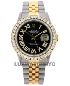 Rolex Free Shipping 2.8ct 36mm Datejust S/S with Box & Appraisal Watch