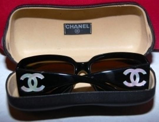 Chanel Mother of Pearl Sunglasses with Chanel Case - Styl