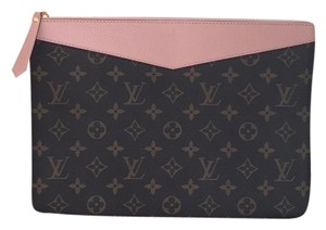 Louis Vuitton rose monogram Clutch