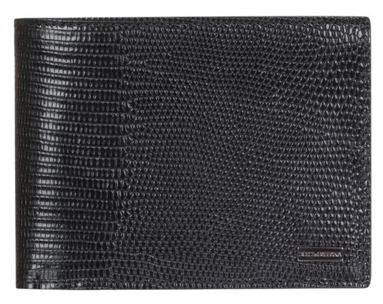 Preload https://img-static.tradesy.com/item/23892122/dolce-and-gabbana-black-dolce-and-gabbana-leather-iguana-print-logo-plaque-bi-fold-wallet-0-1-540-540.jpg