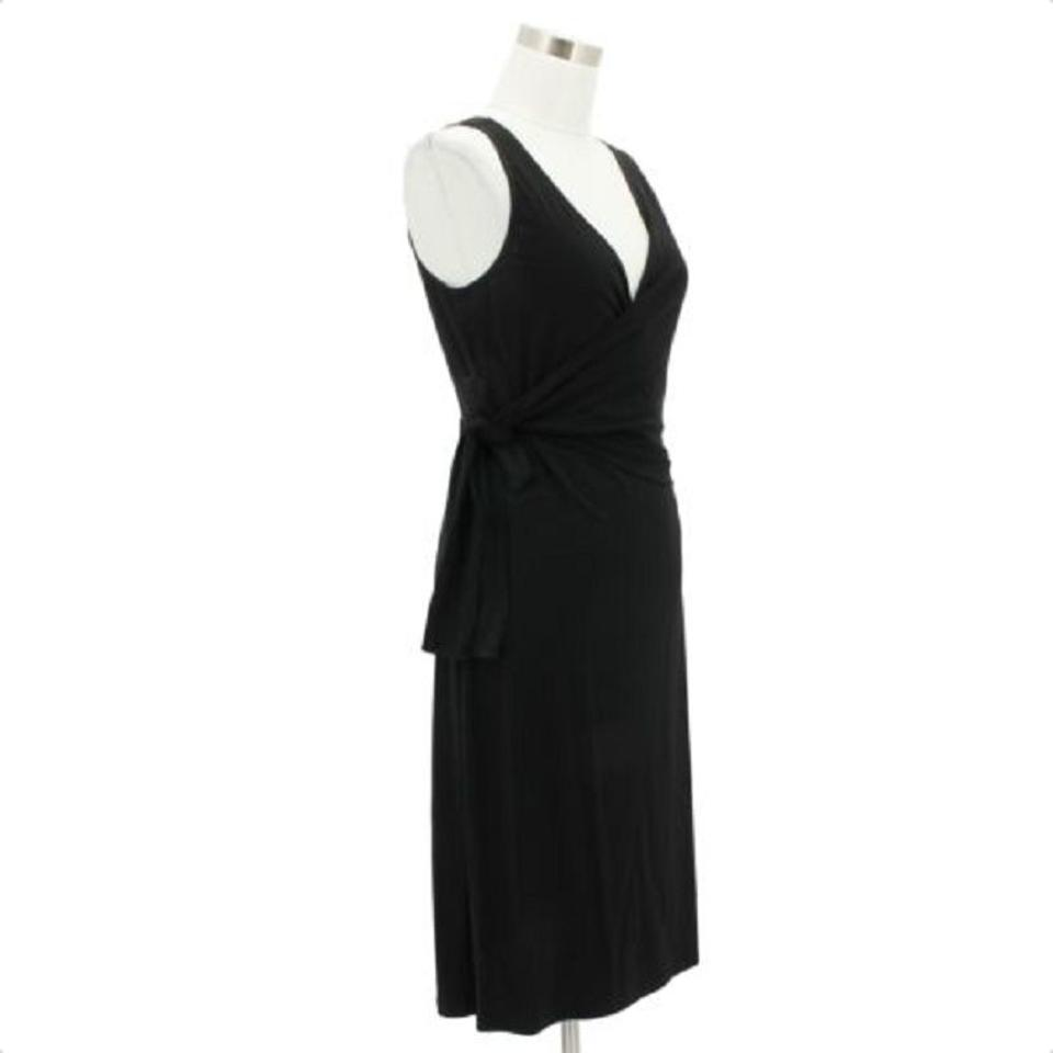 BCBGMAXAZRIA 10 Medium Designer A158 Max Black Formal Bcbg Solid Dress Azria OOHrBx