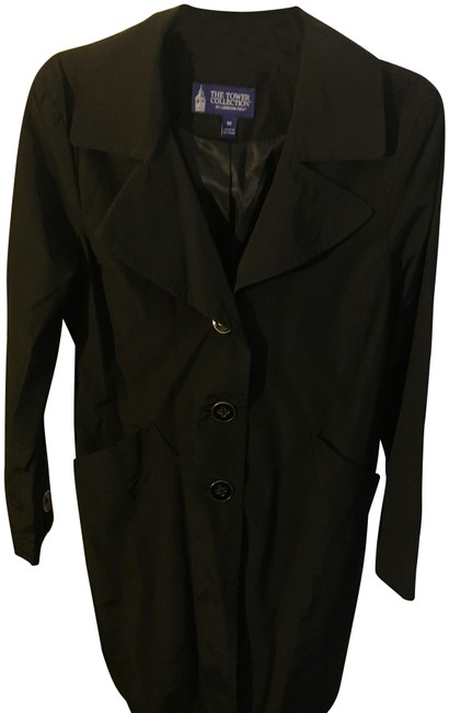 Item - Black The Tower Collection Coat Size 8 (M)