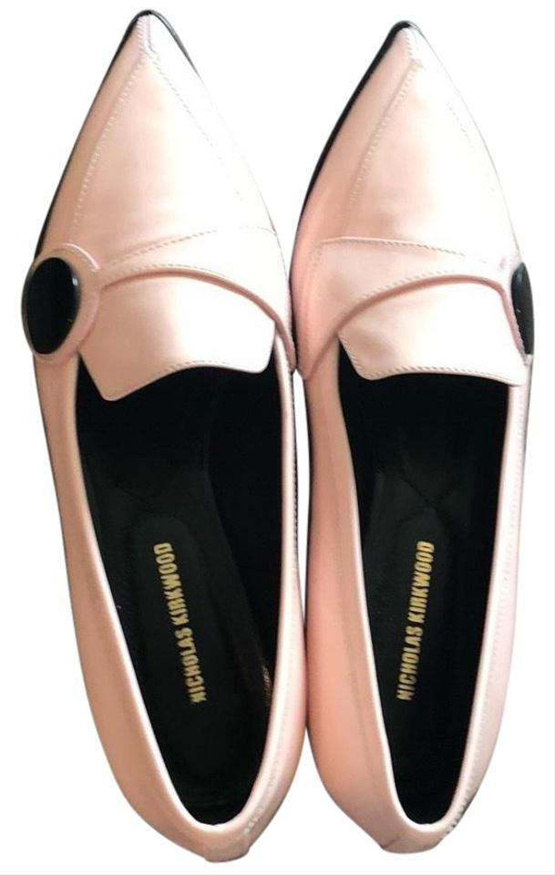 Nicholas Kirkwood Pink Pink Pink Carnaby Patent Leather Flats 192c40