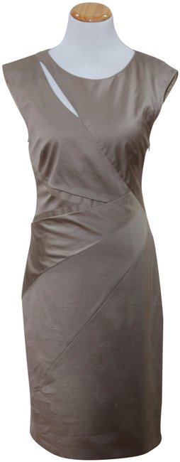 Preload https://img-static.tradesy.com/item/23893464/strenesse-beige-gabrielle-strehl-sleek-and-comfortable-mid-length-workoffice-dress-size-4-s-0-1-650-650.jpg