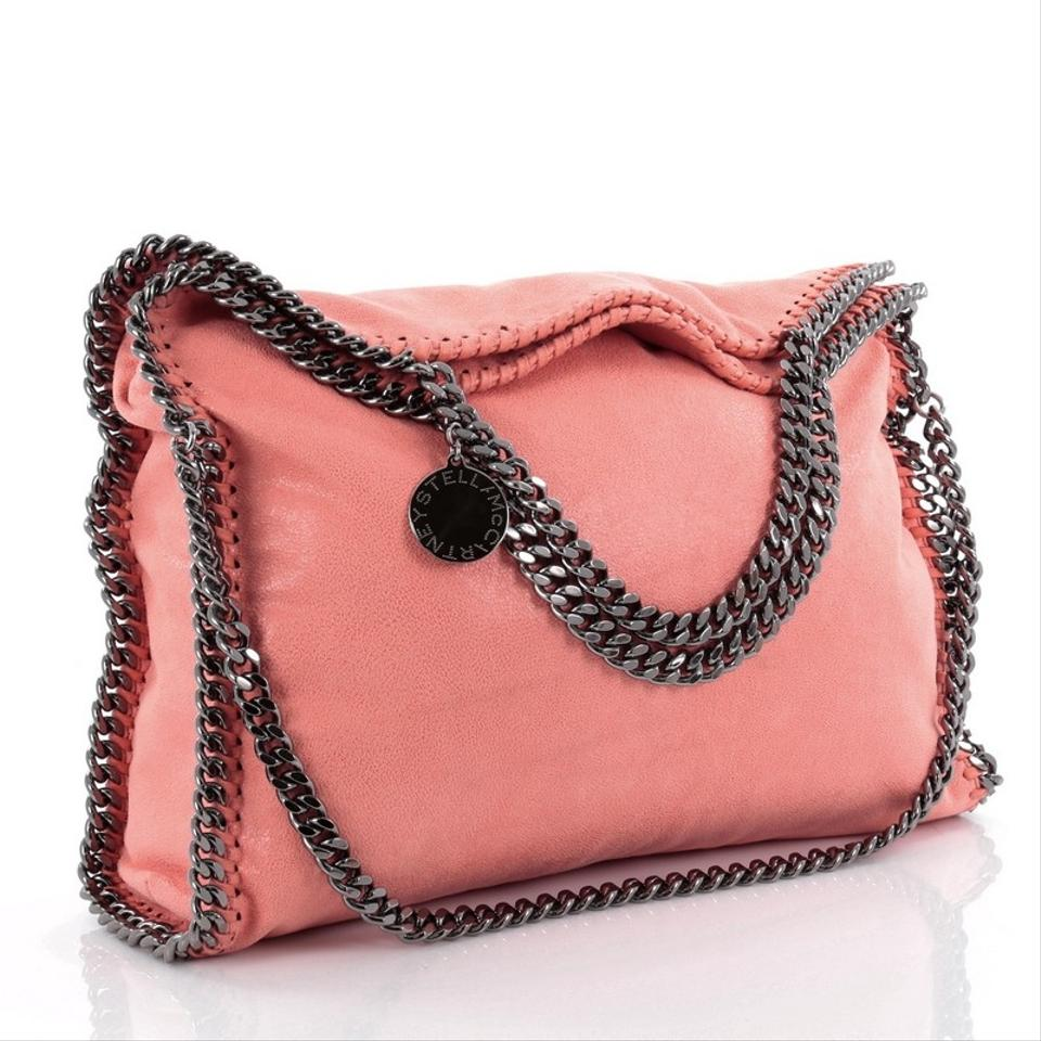 Stella Deer Over Fold Pink Tote McCartney Shaggy Falabella PPSgrRwq