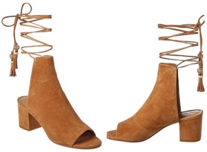 B Brian Atwood Tan Boots