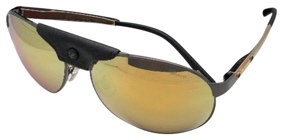d273543ac01 Chopard Polarized CHOPARD Sunglasses SCH 932 K10G 62-16 Gold Black Gunmetal  ...