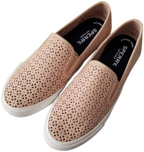 Sperry Perforated Slip-on Sneaker Rose Dust Athletic