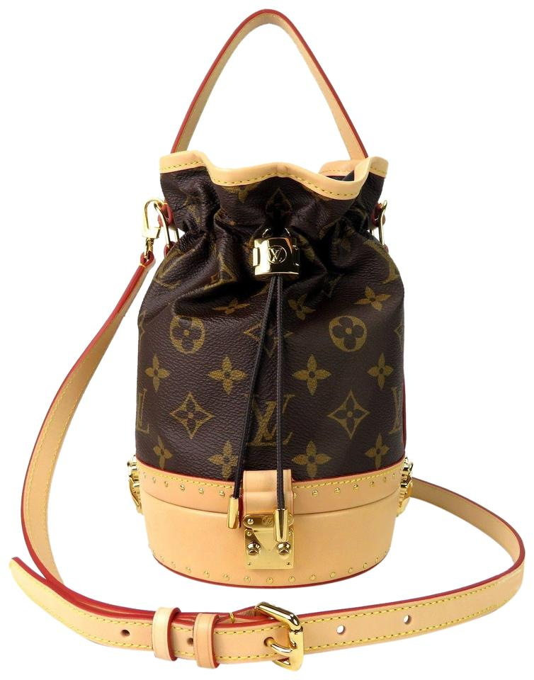 2e3bd2080c Louis Vuitton Petit Noe Trunk Monogram Handbag M43509 Brown Canvas ...