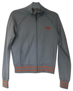The North Face Gray and Orange Jacket