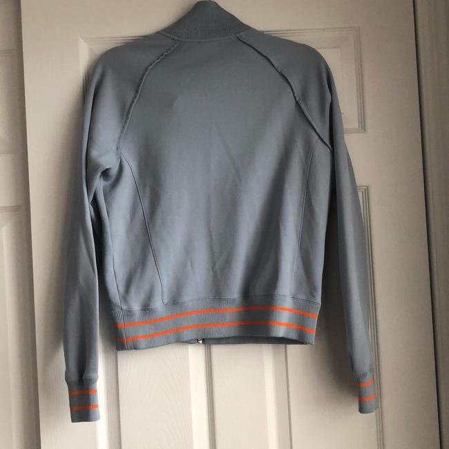 The North Face Gray and Orange Jacket Image 3