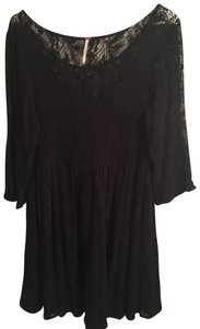 Free People Comfortable Evening Lace Dress