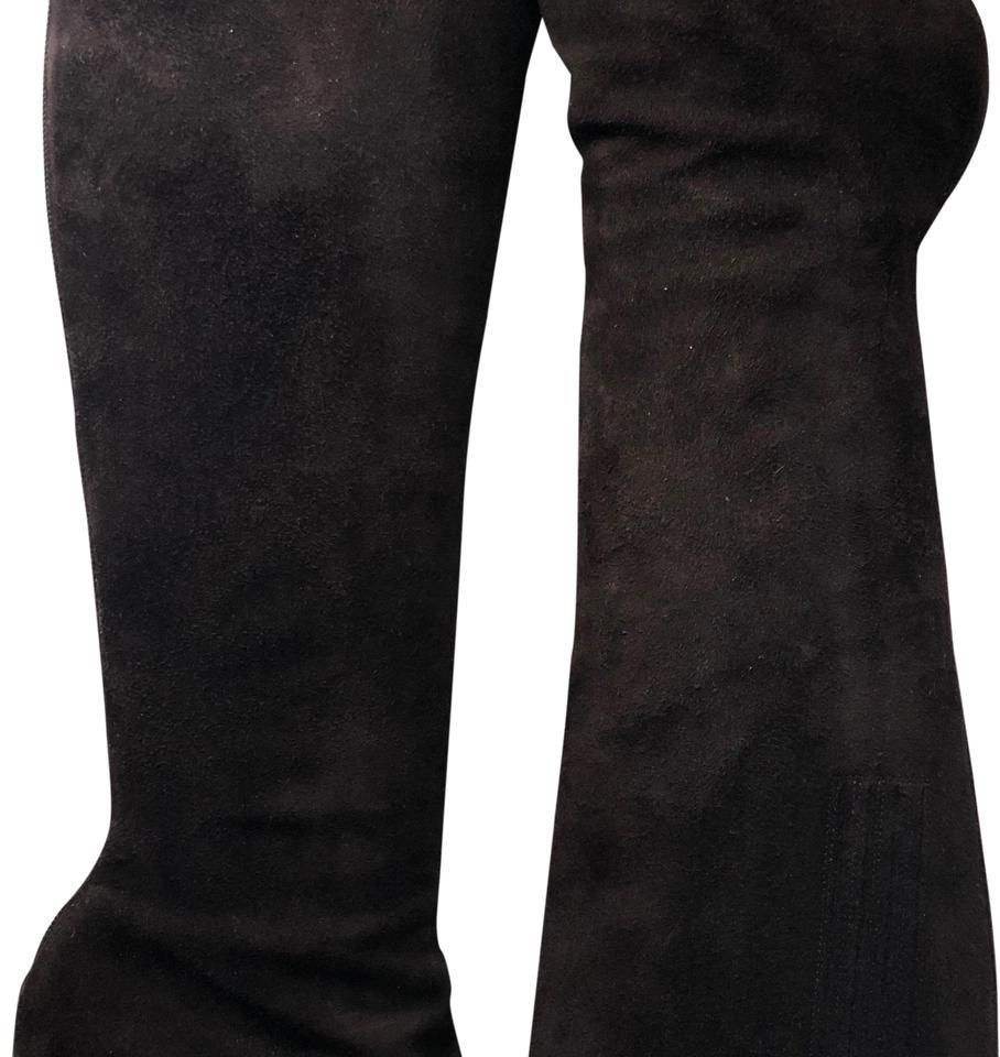 Christian Brown Louboutin Brown Christian Knee High Stiletto Boots/Booties 42606c