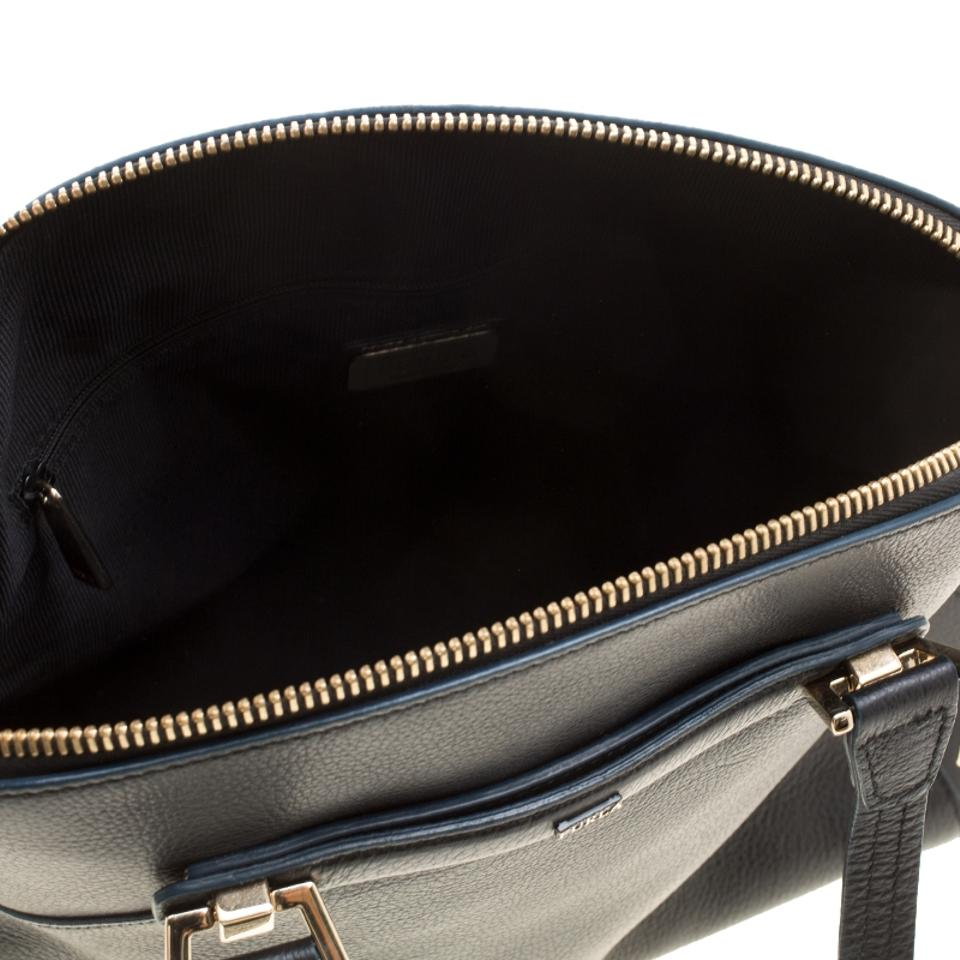 Leather Dome Black Furla amp; Satchel Fabric qgYxTxO