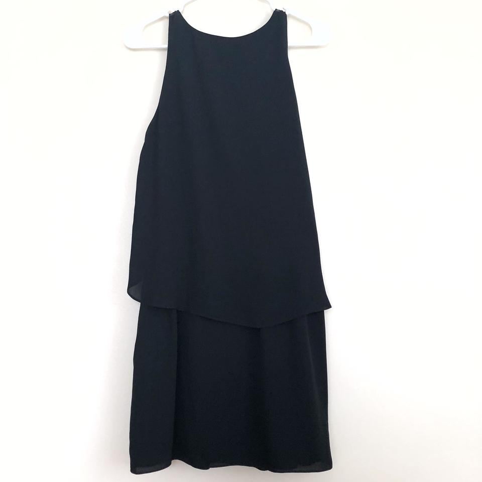 and Black Elizabeth Cocktail Surplice Dress James Flyaway qpqxnd1Ew4