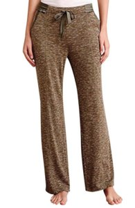 Anthropologie Tie At Waist Exercise Sleep Play Athleisture Comfy Cozy Relaxed Pants Green