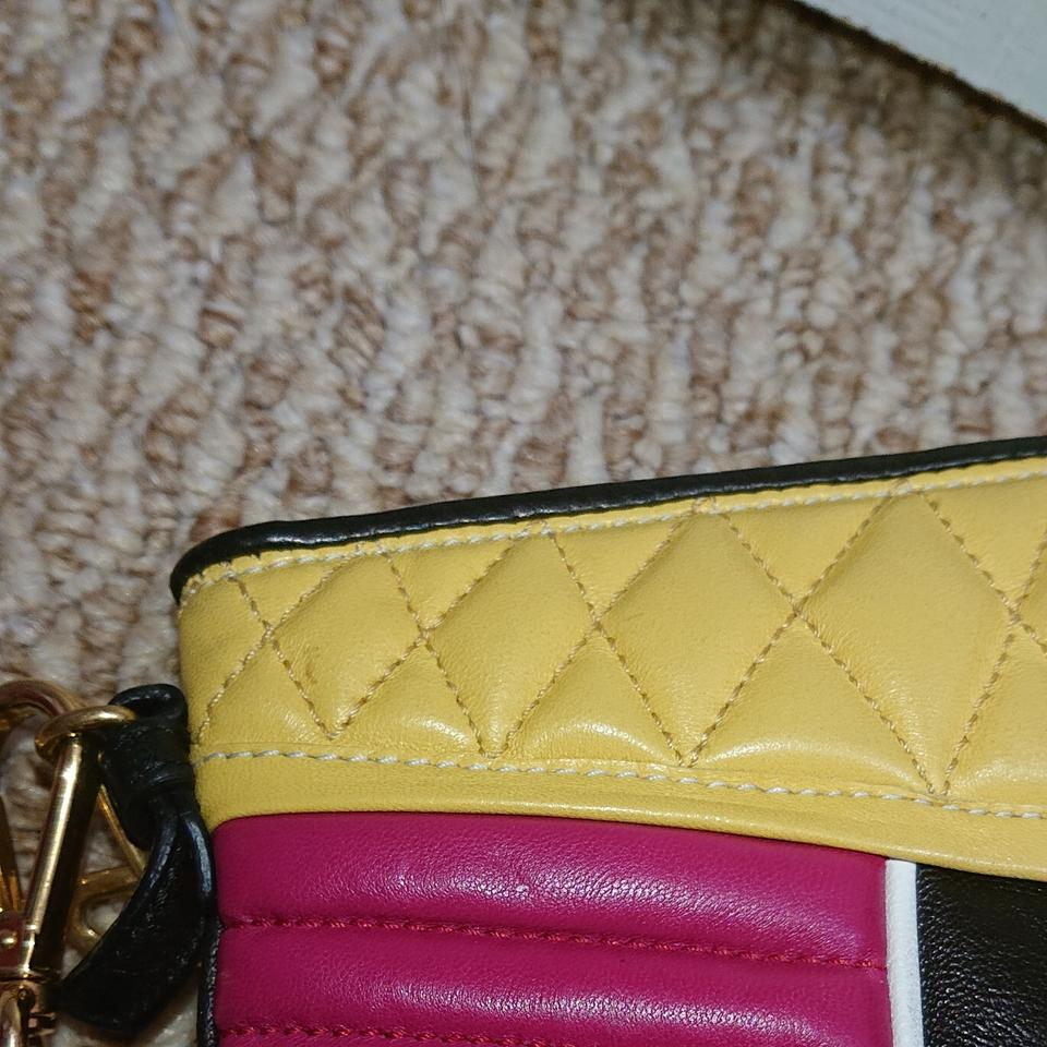 39f010ee2117 Miu Miu Nappa Biker Tricolor Mini Leather Cross Body Bag - Tradesy
